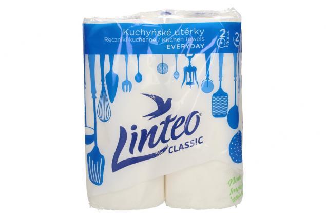 Foto 2 - Kuchňské papírové utěrky Linteo classic 2 ks