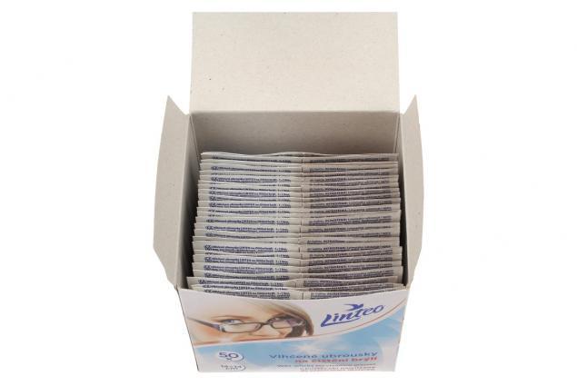 Foto 4 - Linteo vlhčené ubrousky na brýle 50 ks