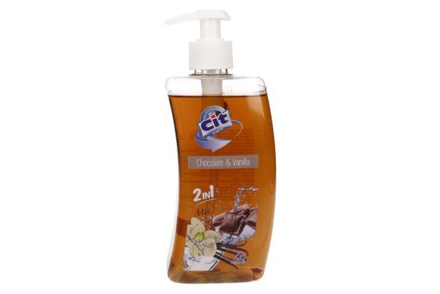 Foto 2 - Cit tekuté mýdlo 500ml Chocolate & Vanilla 2v1