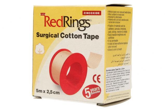 Foto 3 - Chirurgická bavlněná páska 5m x 2,5cm