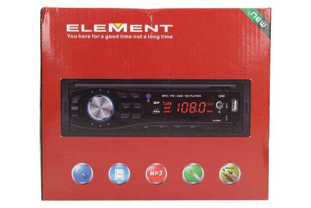 Foto 13 - Autorádio ELEMENT s Bluetooth a MP3 přehrávačem