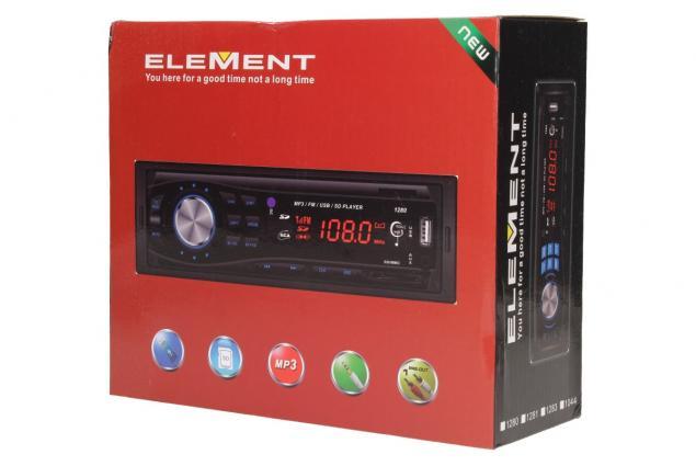 Foto 14 - Autorádio ELEMENT s Bluetooth a MP3 přehrávačem
