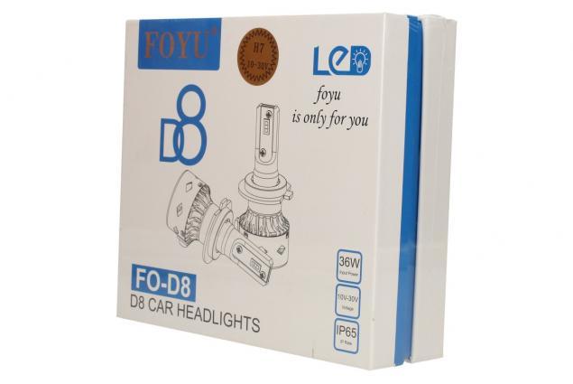 Foto 5 - LED autožárovka FOYUD8 H7 CANBUS 10-30V 36W