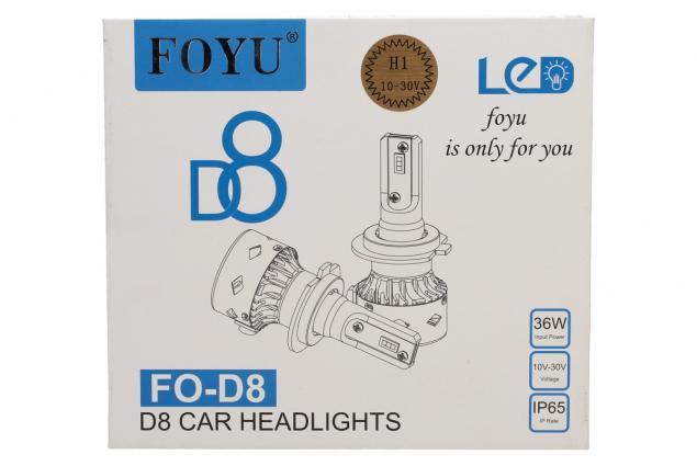 Foto 2 - LED autožárovka FOYUD8 H1 CANBUS 10-30V 36W