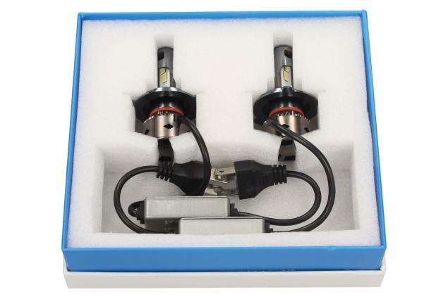 Foto 4 - LED autožárovka FOYU D8 H4 CANBUS 10-30V 36W