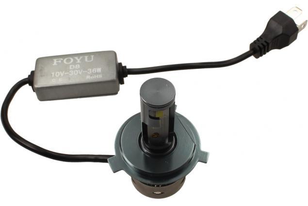 Foto 6 - LED autožárovka FOYU D8 H4 CANBUS 10-30V 36W