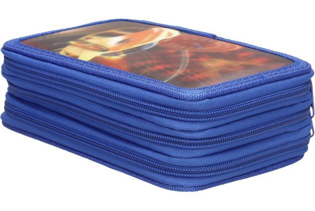 Foto 2 - Třípatrový plně vybavený penál 3D Modrý