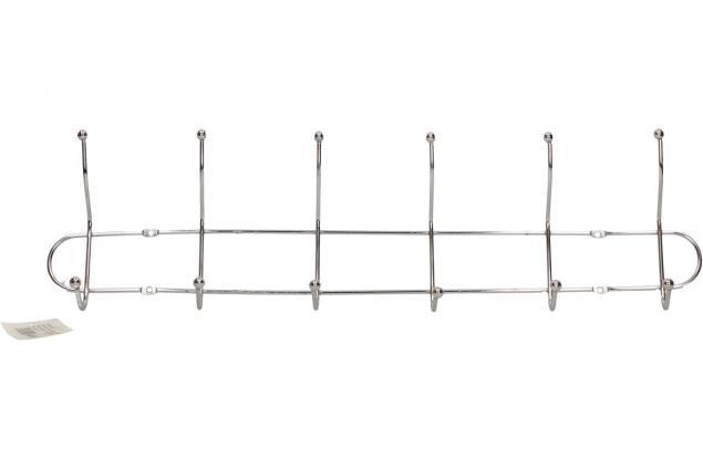 Foto 2 - Nástěnný věšák chromovaný 47 cm