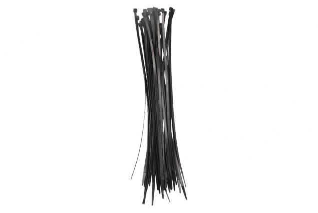 Foto 2 - Stahovací pásky černé 5 x 350 mm, 50 kusů