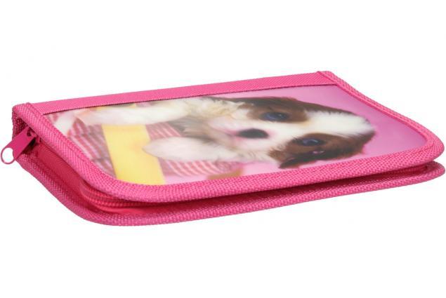 Foto 5 - Jednopatrový plně vybavený penál 3D Růžový
