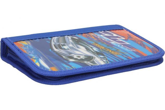 Foto 2 - Jednopatrový plně vybavený penál Modrý