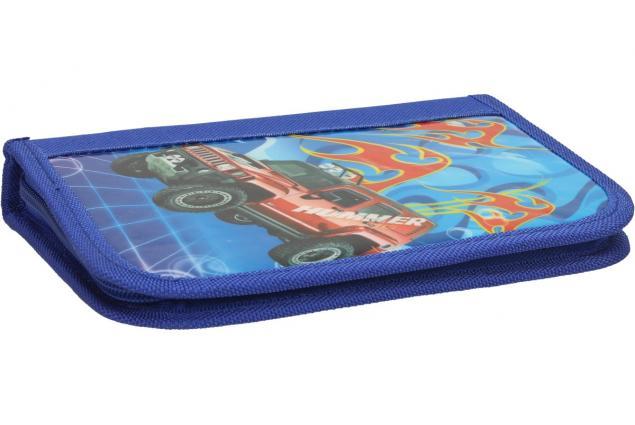 Foto 5 - Jednopatrový plně vybavený penál Modrý