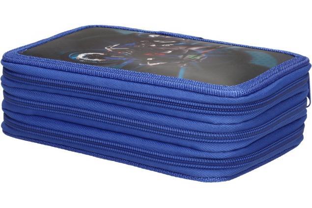 Foto 5 - Třípatrový plně vybavený penál 3D Modrý