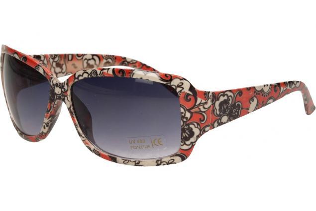 Foto 3 - Sluneční brýle kytkované červeno-bílé 9330