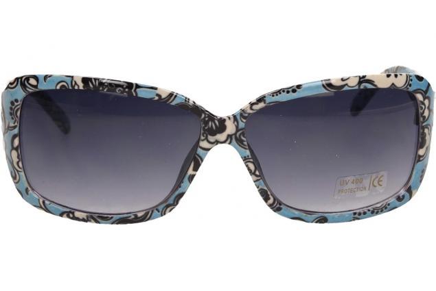 Foto 2 - Sluneční brýle kytkované modro-bílé 9330
