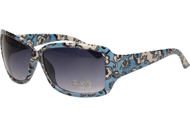 Foto 3 - Sluneční brýle kytkované modro-bílé 9330