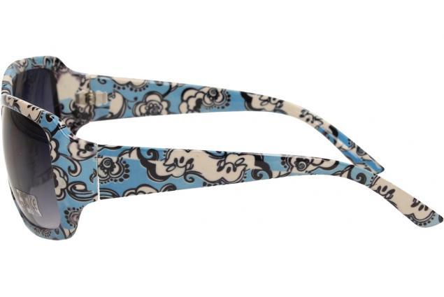 Foto 4 - Sluneční brýle kytkované modro-bílé 9330