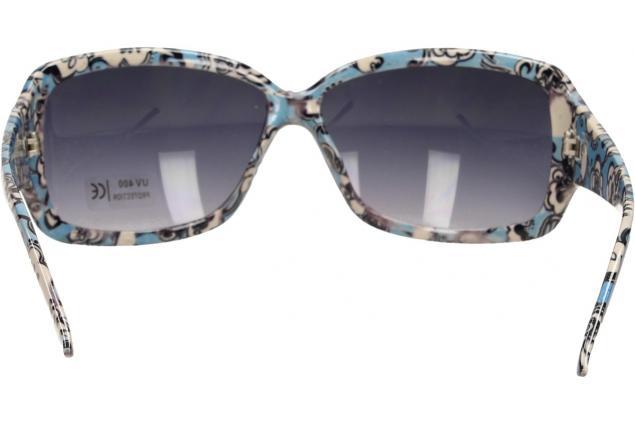 Foto 6 - Sluneční brýle kytkované modro-bílé 9330
