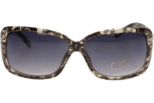 Foto 2 - Sluneční brýle kytkované černo-bílé 9330