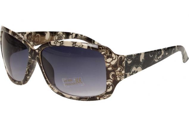 Foto 3 - Sluneční brýle kytkované černo-bílé 9330