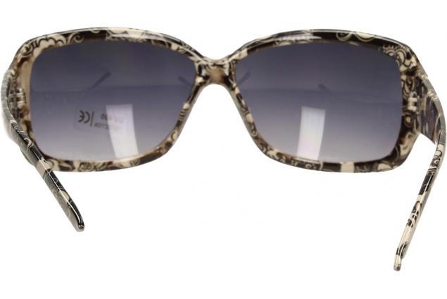 Foto 6 - Sluneční brýle kytkované černo-bílé 9330
