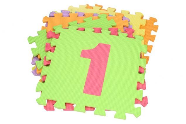 Foto 3 - Pěnové puzzle čísla 30x30 cm