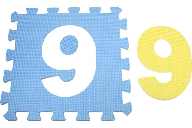 Foto 5 - Pěnové puzzle čísla 30x30 cm
