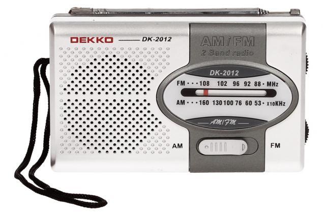 Foto 2 - Mini rádio Dekko AM/FM 2 Band