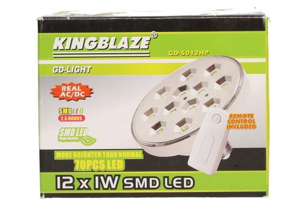 Foto 7 - SMD LED světlo na dálkové ovládání 70 LED