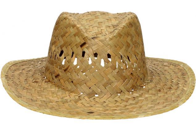Foto 2 - Slaměný kovbojský klobouk bez pásku