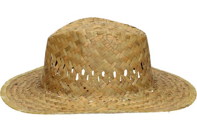 Foto 4 - Slaměný kovbojský klobouk bez pásku