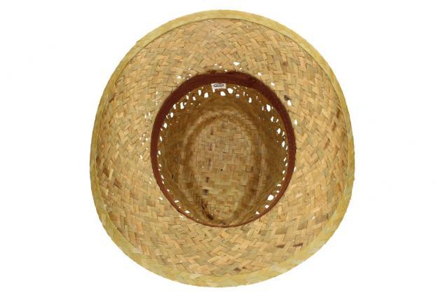 Foto 6 - Slaměný kovbojský klobouk bez pásku