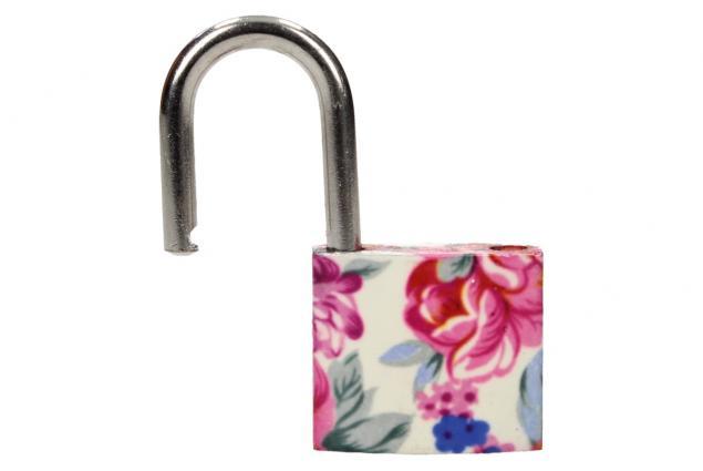Foto 7 - Malý barevný bezpečnostní zámek s klíči 32 mm na kufr