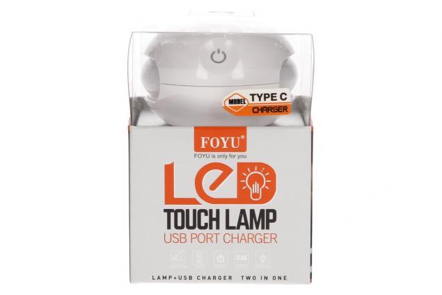 Foto 6 - 2 v 1 USB nabíječka s LED světlem FOYU