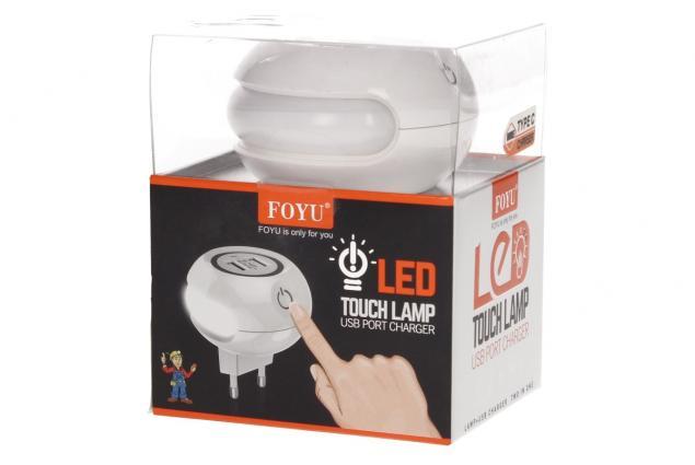 Foto 7 - 2 v 1 USB nabíječka s LED světlem FOYU
