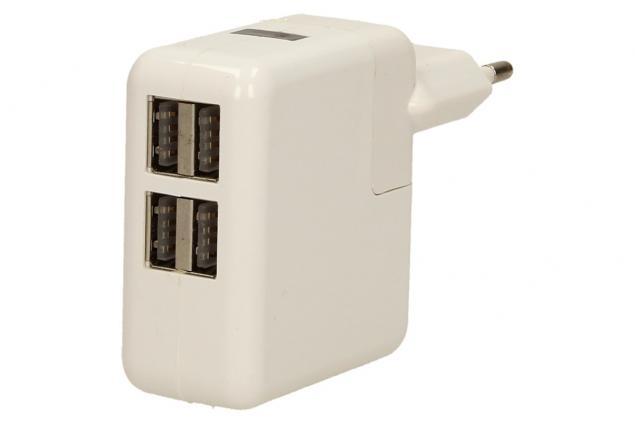 Foto 2 - USB nabíječka se 4 porty 10W