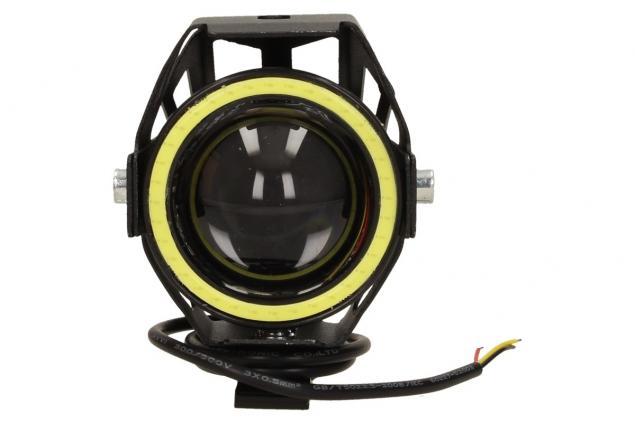 Foto 2 - Přídavné LED čočkové světlo na motorku Laser Gun 10W