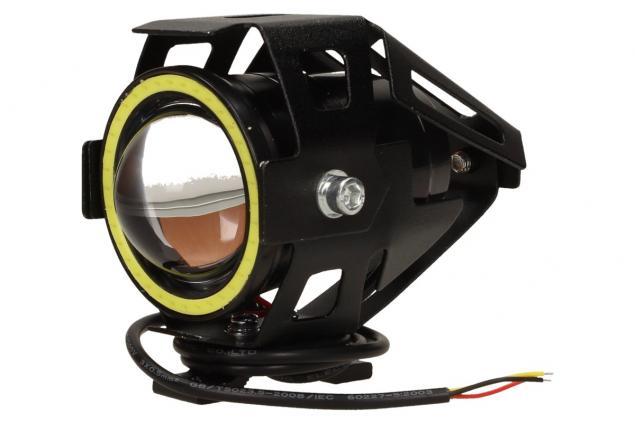Foto 3 - Přídavné LED čočkové světlo na motorku Laser Gun 10W
