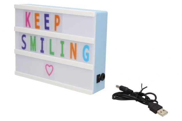 Foto 3 - USB Svítící lampička s volitelnými písmenky