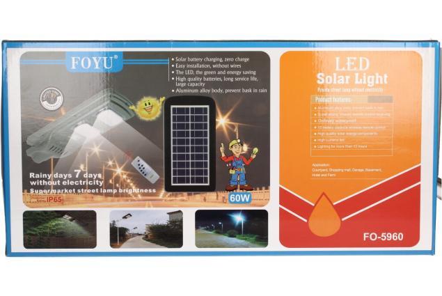 Foto 9 - LED solární venkovní světlo 60W na dálkové ovládání.