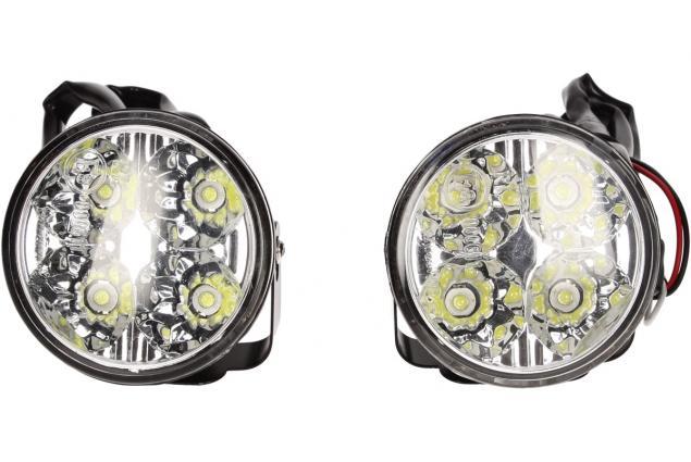 Foto 3 - LED světla pro denní svícení Maxeed 12V 4 LED (4w) x 2