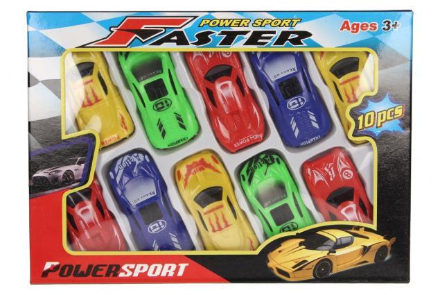 Foto 2 - Sada autíček na hraní power sport 10 ks