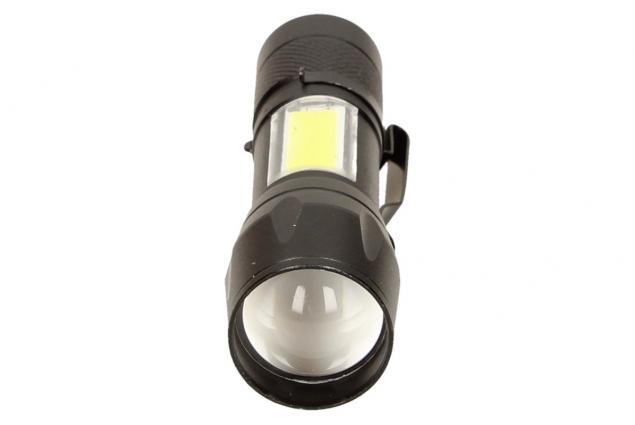 Foto 7 - LED Kapesní výkonná nabíjecí svítilna s klipem
