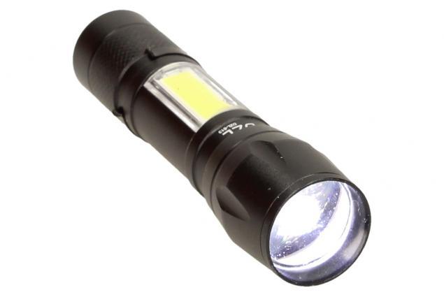 Foto 3 - LED Kapesní výkonná nabíjecí svítilna s klipem