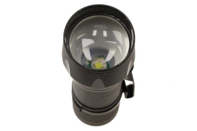 Foto 9 - LED Kapesní výkonná nabíjecí svítilna s klipem