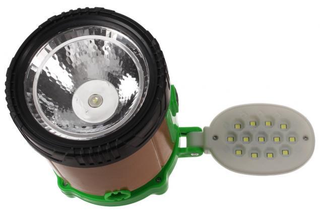 Foto 11 - Lampa pro kemping 3v1+ solární nabíječka