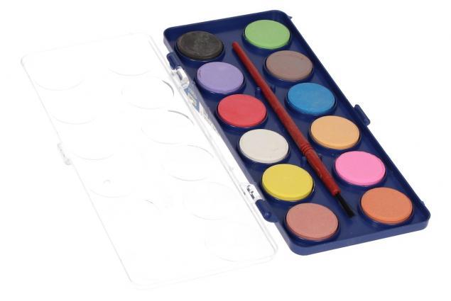 Foto 6 - Vodové barvy 12 barev se štětcem malé