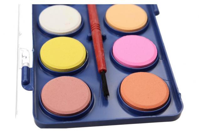 Foto 4 - Vodové barvy 12 barev se štětcem malé