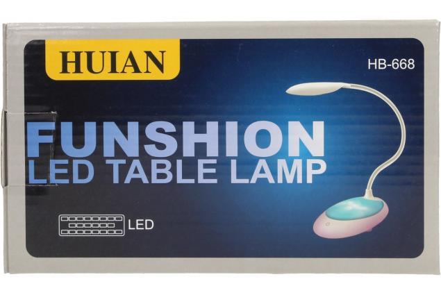 Foto 7 - Flexibilní LED stolní lampa HB-668
