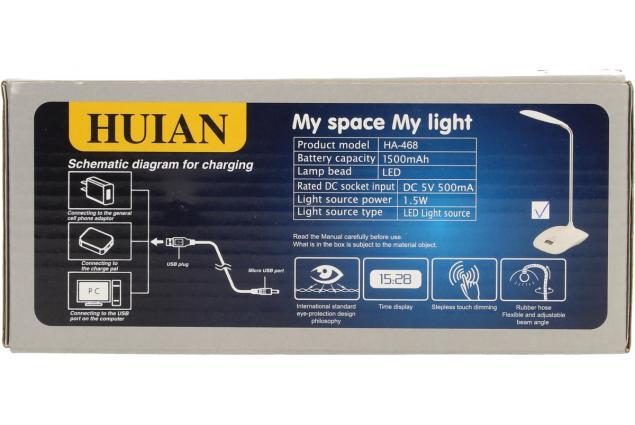 Foto 8 - Flexibilní LED stolní lampa HB-668